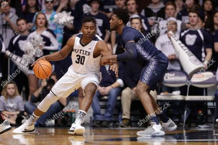 Editorial picture of Georgetown Butler Basketball, Indianapolis, USA - 13 Feb 2018