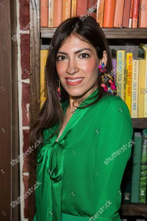 Heba Abedin attends the Alice and Olivia show as part of NYFW Fall/Winter 2018 on in New York