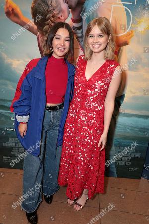 Stock Photo of Amanda Arcuri and Angourie Rice
