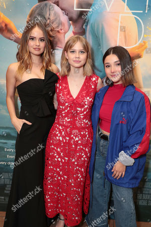 Editorial image of Orion Pictures Special Los Angeles film Screening of 'Every Day', Playa Vista, Los Angeles, USA - 13 Feb 2018
