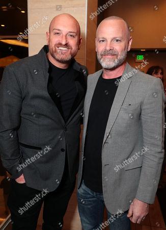 Director Michael Sucsy and Michael Cram