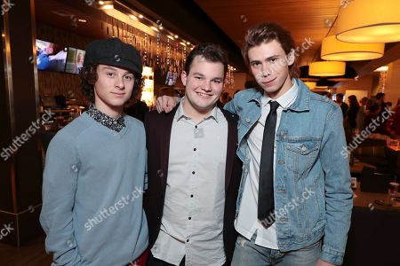 Lucas Jade Zumann, Jake Sim and Owen Teague