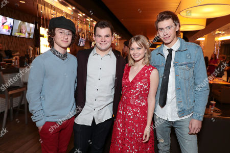 Lucas Jade Zumann, Jake Sim, Angourie Rice and Owen Teague