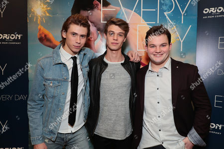 Owen Teague, Colin Ford and Jake Sim