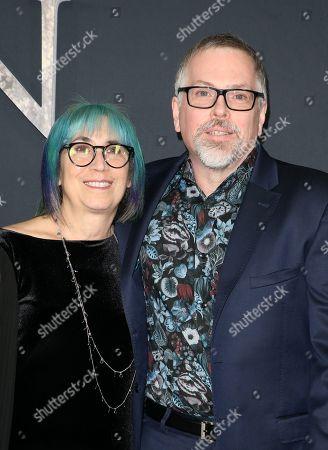 Editorial photo of 'Annihilation' film premiere, Arrivals, Los Angeles, USA - 13 Feb 2018