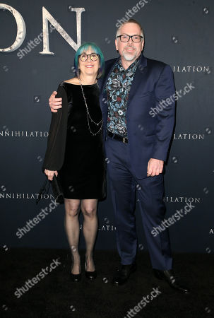 Editorial photo of 'Annihilation' film premiere, Arrivals, Los Angeles, USA - 13 Feb 2018