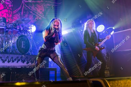 Stock Picture of Arch Enemy - Alissa White Gluz, Jeff Loomis