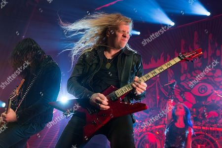 Stock Picture of Arch Enemy - Jeff Loomis