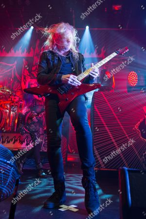 Stock Image of Arch Enemy - Jeff Loomis