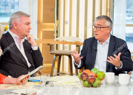 Editorial image of 'This Morning' TV show, London, UK - 14 Feb 2018