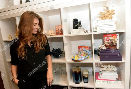 Genevieve Gorder. Fiber One partners with design expert and TV host Genevieve Gorder to share She Shed decor tips, in New York