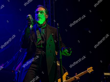 The Damned - Dave Vanian, Paul Gray