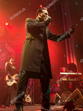 The Damned - Dave Vanian, Paul Gray, Monty Oxymoron
