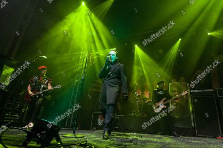 The Damned - Dave Vanian, Captain Sensible, Paul Gray, Pinch
