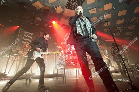 Simple Minds - Jim Kerr, Charlie Burchill, Gordy Goudie, Cherisse Osei, Sarah Brown, Catherine Anne Davies