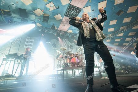 Editorial picture of Simple Minds in concert at Barrowland Ballroom Glasgow, Scotland, UK - 13 Feb 2018