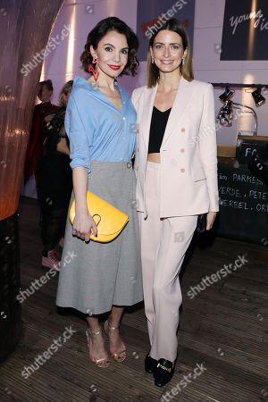 Nadine Warmuth and Eva Padberg