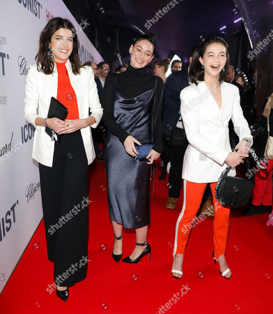 Stock Picture of Marie Nasemann, Maria Ehrich and Lisa-Marie Koroll