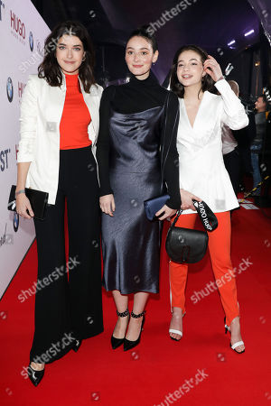 Stock Photo of Marie Nasemann, Maria Ehrich and Lisa-Marie Koroll
