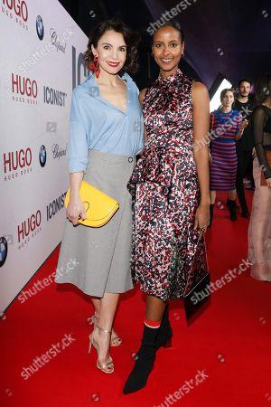 Nadine Warmuth and Sara Nuru