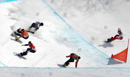 Editorial picture of Snowboard - PyeongChang 2018 Olympic Games, Bongpyeong-Myeon, Korea - 15 Feb 2018