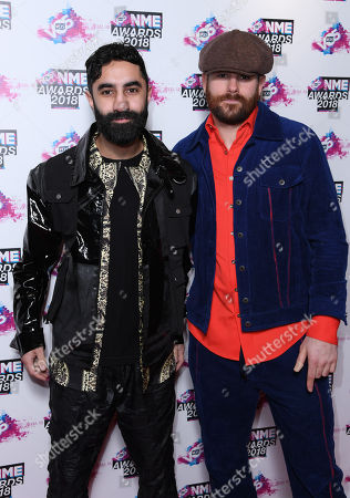 Amir Amor and Piers Agget from Rudimental
