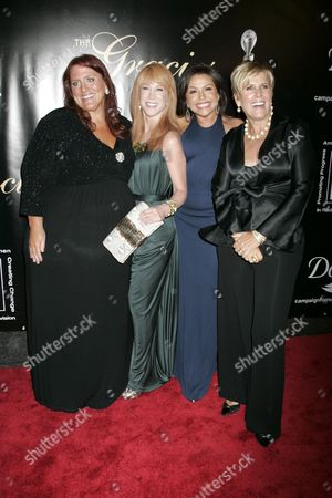 Ruby Gettinger, Kathy Griffin, Rachael Ray and Suze Orman