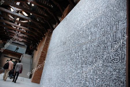 Richard Prince art in Francois Pinault's contemporary art collection on display at his Punta della Dogana museum