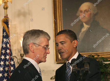 US Representative John M. McHugh and U.S. President Barack Obama