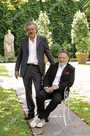 Producer Massimo Cristaldi and Director Alessandro Capone