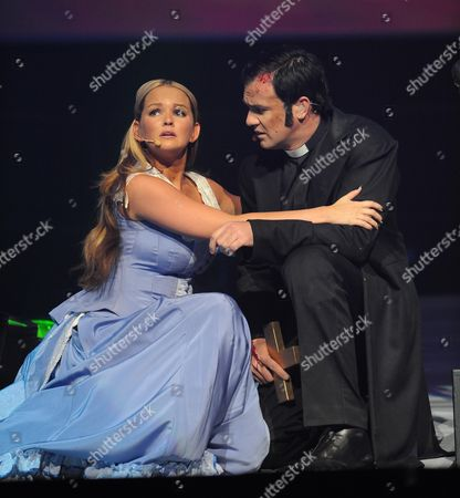 Editorial picture of 'War of the Worlds - Alive on Stage!' rehearsal, Elstree Studios, Hertfordshire, Britain - 03 Jun 2009