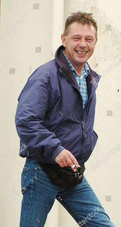 Andy Kershaw. Radio 3 Radio Presenter Andy Kershaw Returns To His Home In Peel Isle Of Man After Spending Six Nights In Douglas Prison For Breaking A Restraining Order Against His Partner Juliette Banner.