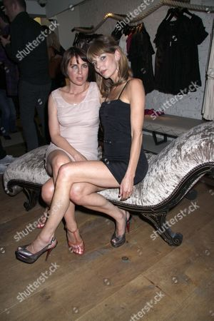 Sadie Frost and Jemima French