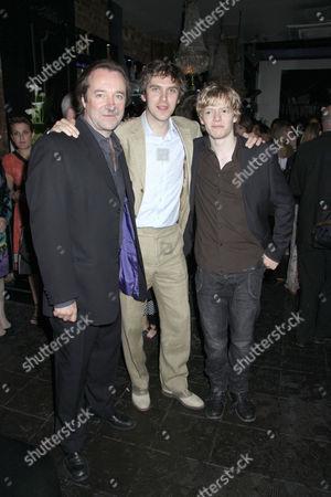 Neil Pearson, Dan Stevens and Hugh Mitchell