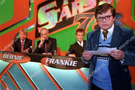 'The Grimleys' TV - Series 3 - 2001 - Gordon (James Bradshaw) goes on the panel gameshow New Stars of '78 to read his poem.  Norman Collier, Bernie Clifton and Ralph Brown make cameo appearances as the panel.