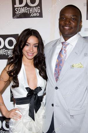 Jessica Caban and Kwame Jackson