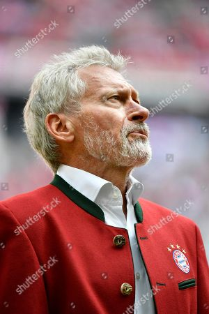 Paul Breitner, portrait, German football championship, Allianz Arena, Munich, Bavaria, Germany