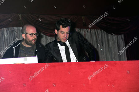Seb Chew and Mark Ronson