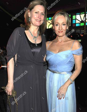 Sarah Brown and JK Rowling