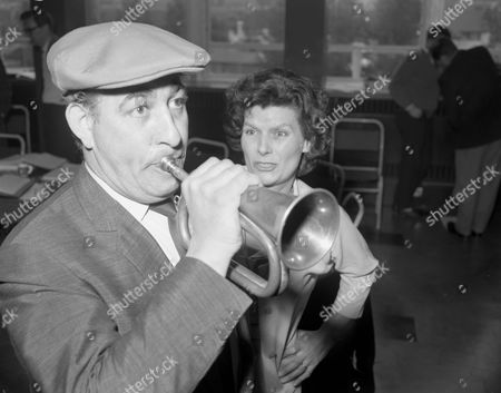 Stock Picture of 'The Recruiting Officer'   TV Alfred Marks and Hilda Fenemore