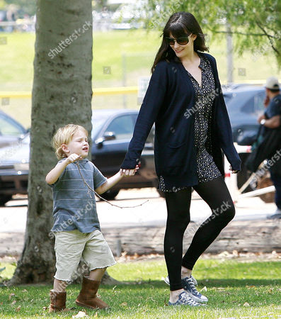 Editorial photo of Liv Tyler and son Milo at a park in Los Angeles, America - 07 Jun 2009