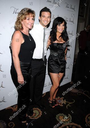 Shirley Ballas and Mark Ballas with Joanna Pacitti