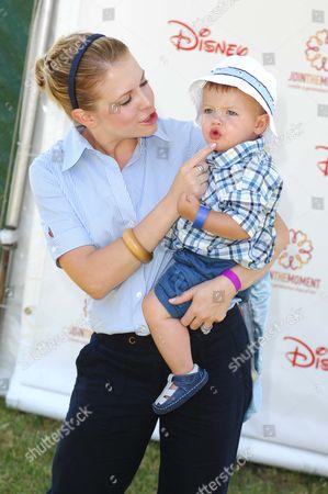 Melissa Joan Hart and son Braydon Hart Wilkerson