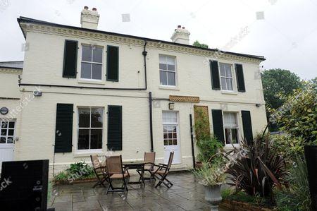 Trevor Burke's home in Sharpenhoe, Bedfordshire
