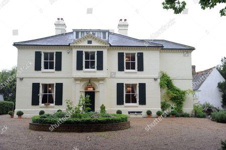 Stock Image of Trevor Burke's home in Sharpenhoe, Bedfordshire