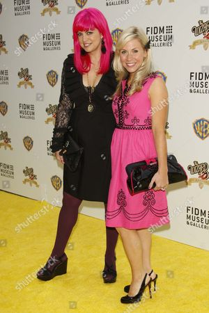 Tarina Tarantino and Ashley Eckstein
