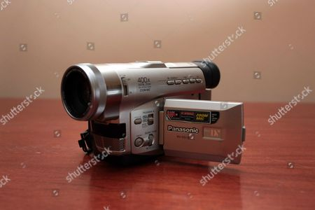 The Panasonic camcorder Marc Price used for his film 'Colin'