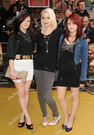 Meghan Prescott, Lily Loveless and Kathryn Prescott