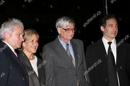 Sir Paul Nurse, Judith Rodin, Edward O Wilson, Brian Greene