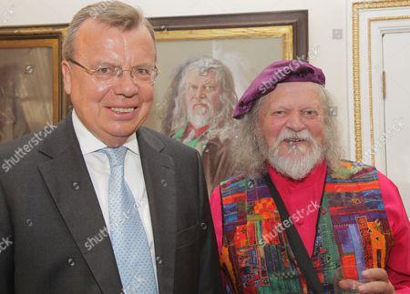 Yury V. Fedotov and Lord Bath